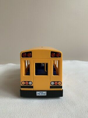 Playmobil City Life 5680 School Bus with Flashing Lights
