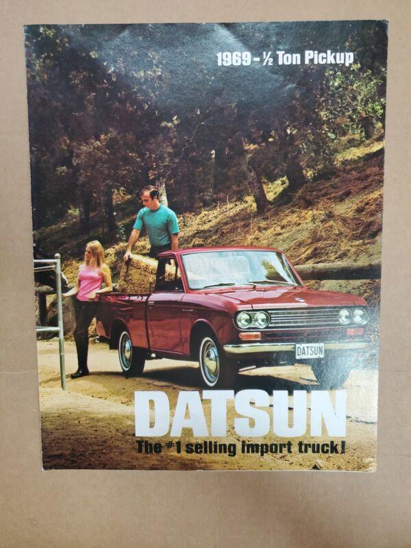 1969 Datsun 1/2 ton pickup Brochure