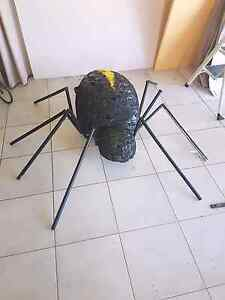 Halloween spider decoration homemade one of a kind Heathridge Joondalup Area Preview