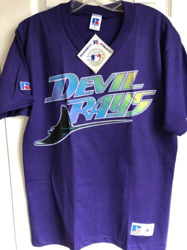 Vintage Russell Athletic Devil Rays TShirt Youth L- new/tags
