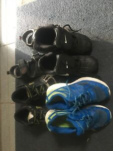 4 pairs boys shoes size 1