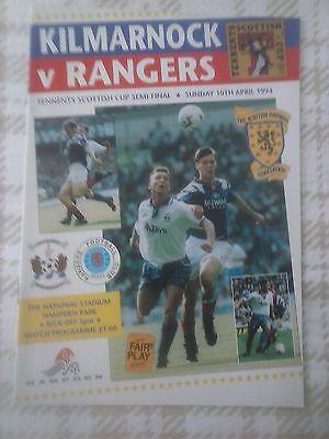 Kilmarnock v Rangers 1994 Scottish Cup semi final