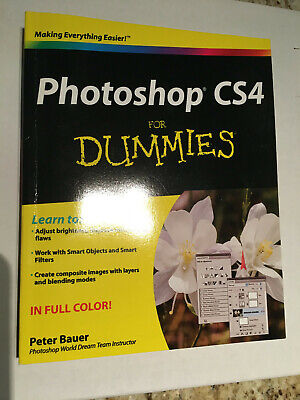 Photoshop CS4 for Dummies by Peter Bauer (2008, Trade Paperback)