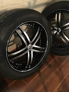 Dodge Ram 1500 wheels - 22's