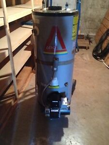Areo oil fired water heater