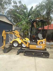 Mini Excavator for Hire $175 per day Nerang Gold Coast West Preview