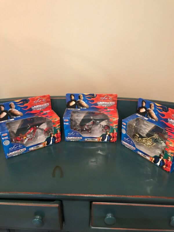 3 American Chopper Diecast 1/18 Scale