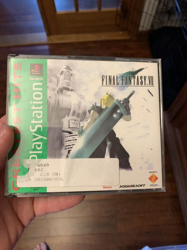 Final Fantasy VII 7 (PlayStation 1) PS1 Complete Greatest Hits Tested