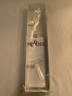 Ikea Enudden Metal Towel Rack With 3 Concealed Peg Knobs White Brand New Nice