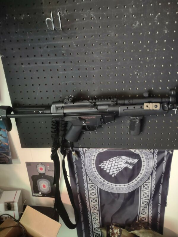 Mp5 H&k Hpa Airsoft Gun