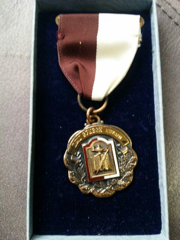 Disabled American Veterans DAV Speech Award Medal Shirley Weigman 1954
