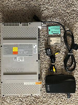 Avaya Partner Acs 103r1 R7 Phone System W8 Phones Music On Hold Backup Card