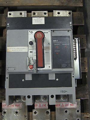 GENERAL ELECTRIC GE POWERBREAK CIRCUIT BREAKER 1600 AMP 600V 3 POLE TP1616S