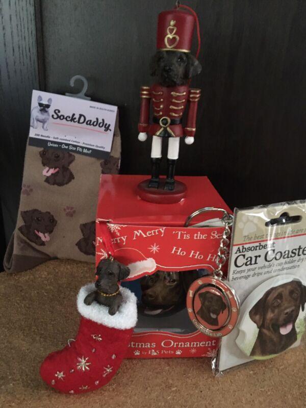 chocolate labrador retriever assorted gift pack new