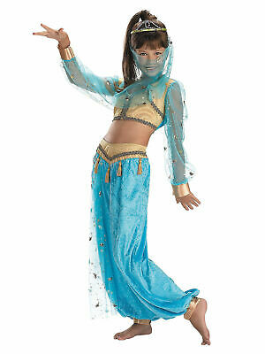Mystical Genie Child Costume 7-8 Disguise Girls Costume - Genie Child Costume
