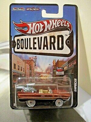 Hot Wheels Boulevard Underdogs Amphicar real riders metal/metal