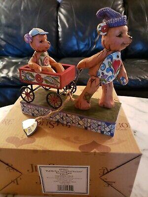 Jim Shore - Figurine - Bears and Wagon -