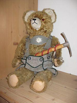 Teddybär Stoffbär Bergsteigerbär Lederhosenbär Oktoberfestbär (Weihnachten)