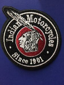 INDIAN MOTORCYCLE EMBROIDERED