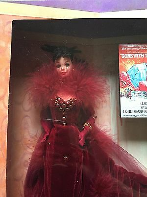 Hollywood Legends Collection Scarlett O'Hara Barbie Red Velvet Gown 12815 NEW