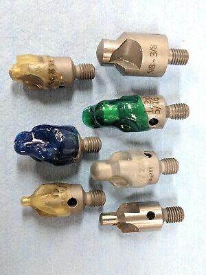 7 Pc. Hss Aircraft 100 Degree Countersink Set Common Sizes - Kit Assortment 14