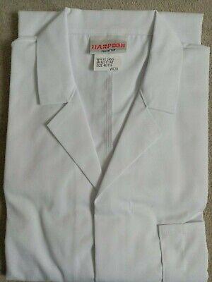 Harpoon White Warehouse Coat XL Chest 116cm /46