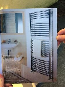NEW!! Tuzio Hydronic Towel Warmer