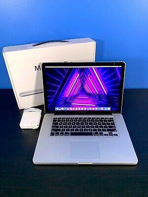 Apple MacBook Pro 15 Pre-Retina | 2TB SSD | 8GB | Intel 2.66Ghz | 3YEAR WARRANTY