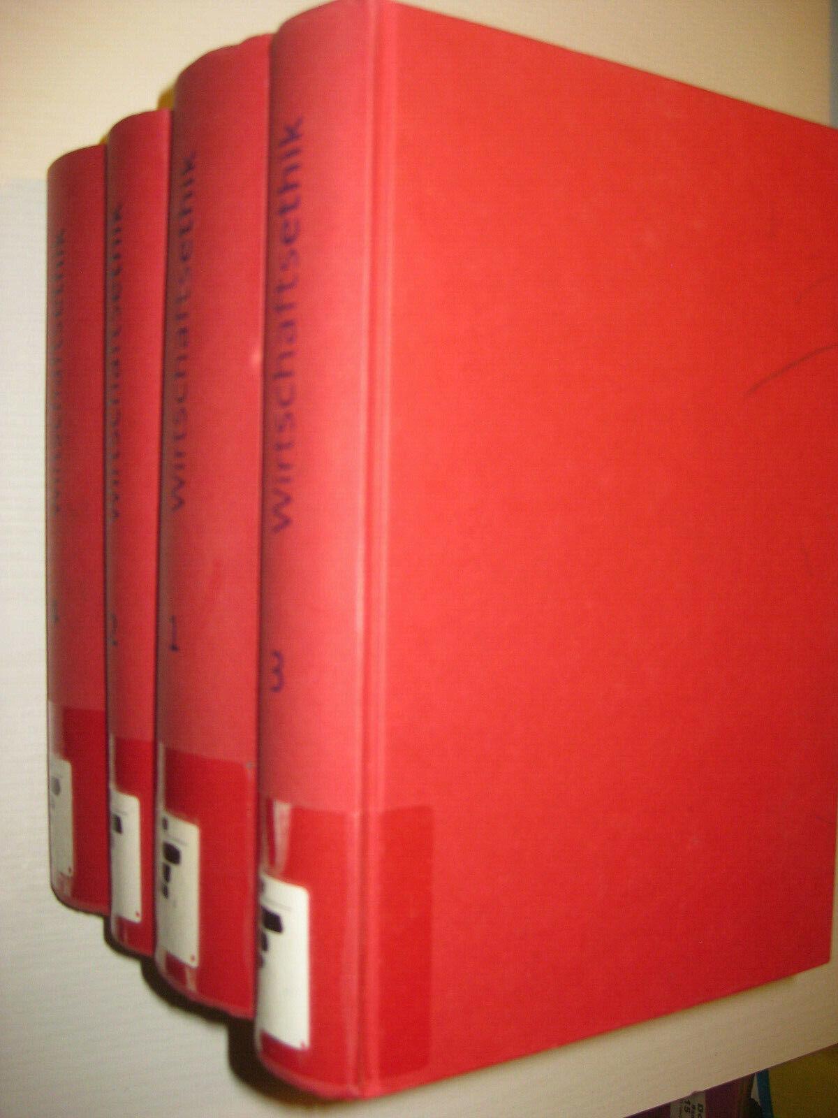 Handbuch der Wirtschaftsethik , 4 Bände von Wilhelm Korff u.a. (1999)