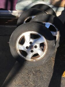 Honda RIMs and winter tires