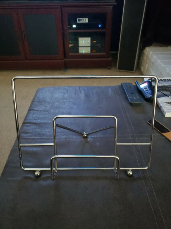 """Vinyl Record LP Album Holder Display Stand """"Now Playing"""" Heavy Duty"""