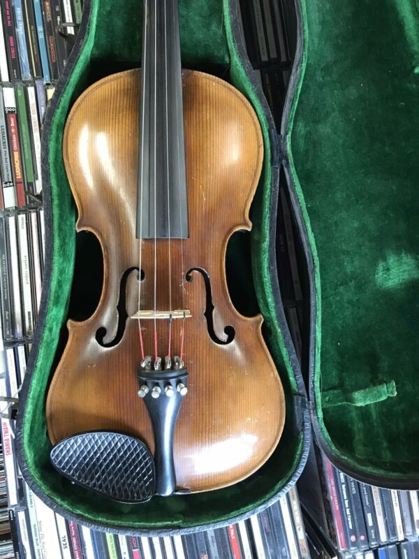 Vintage Jacobus Stainer 4/4 Violin W/ Hard Shell Case