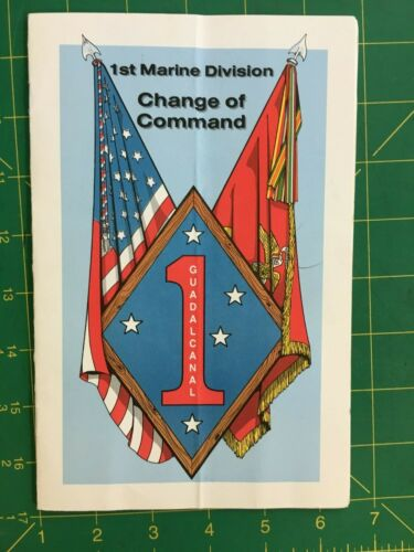 First Marine Division, Change of Command Package, 1st Div Collectors