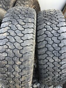 Two tires 225/75r16 lots of tread $50