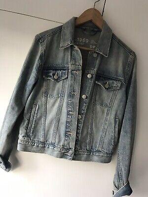 GAP 1969 Vintage Look Denim Jacket Size S/P (UK 10-12)