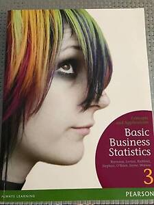 Berenson's Basic Business Statistics Clayton South Kingston Area Preview