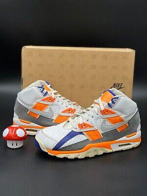 Nike Air Trainer SC High Bo Jackson White Grey Orange Blue OG Sz 10 302346-106