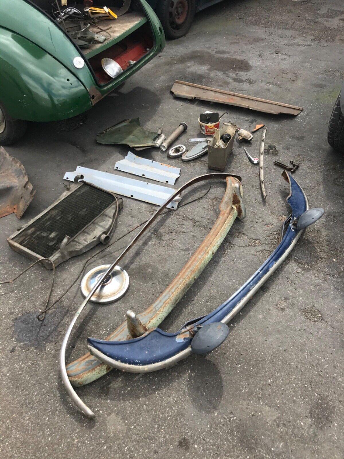 Barn-find-Morris-split-screen-Morris-1000-Spares-or-repairs-Hot-rod-Rat-rod