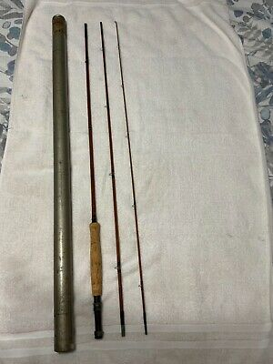 Vintage Heddon #17 bamboo fly rod. 9' - 3 pc. Nice condition