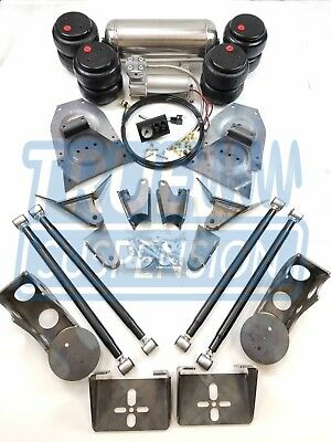Complete 1973-1991 C20 C30 Pickup Truck Air Ride Suspension Lowering System Kit for sale  USA
