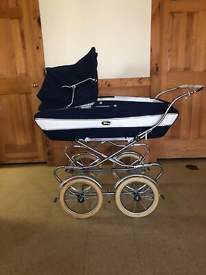 * VINTAGE FOLDING PEREGO BABY CARRIAGE PRAM COMBINATION MADE IN ITALY