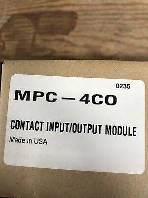 New In Box Siebe Mpc-4c0 Environmental Controls Fire Alarm