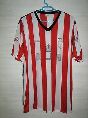 ULTRA RARE BRENTFORD 1990-92 HOME SHIRT CHAD JERSEY SOCCER SIZE XL image