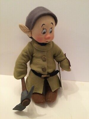 "RARE,  R. John Wright DISNEY, ""Frightened Dopey"" with Pick Axe 92/250"