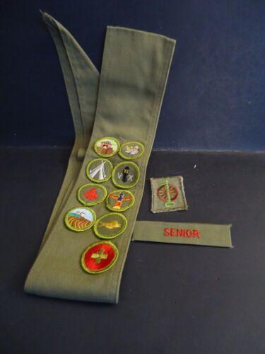 Boy Scouts of America Merit Badge Sash