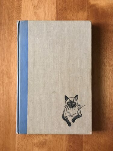VINTAGE YOUR SIAMESE CAT BOOK by Baker. 1951 with Certificate