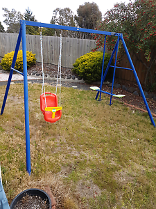 Swing set .inc climbing frame.inc old trampoline. Brighton Brighton Area Preview