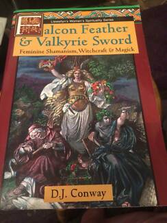 Falcon Feather & Valkyrie Sword - D J Conway