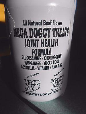 MEGA Treats Best Large Dog Glucosamine Chondroitin RealBeef 3 Mo Supply