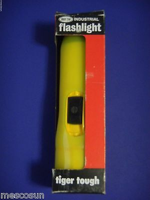 Bright Star 549 Flashlight Industrial W Yellow Slip On Wand -traffic Control
